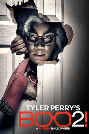 movie poster for Tyler Perry's Boo 2! A Madea Halloween