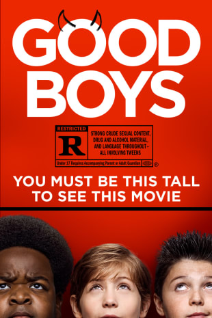 movie poster for Good Boys