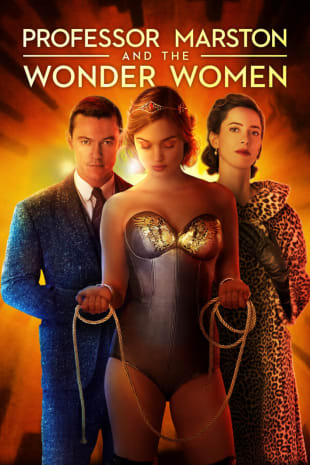 movie poster for Professor Marston & The Wonder Women