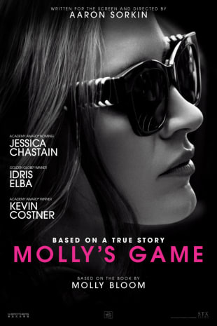 movie poster for Molly's Game