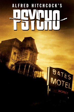 movie poster for Psycho (1960)