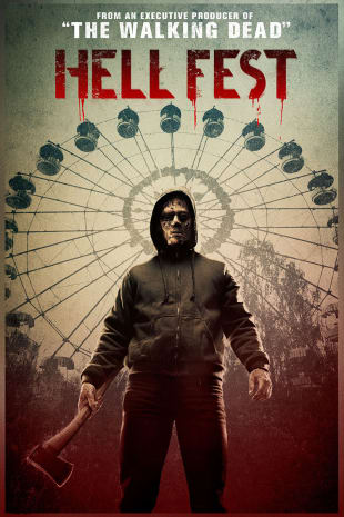 movie poster for Hell Fest