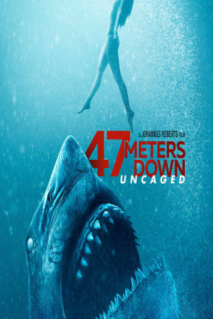 movie poster for 47 Meters Down: Uncaged