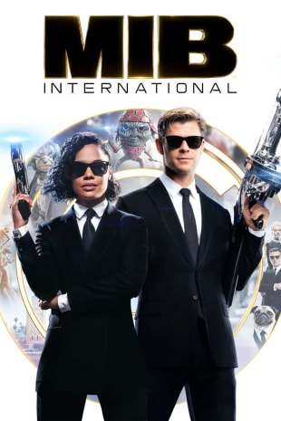 movie poster for Men In Black International