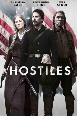 movie poster for Hostiles