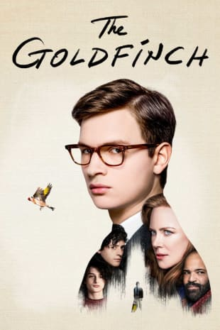 movie poster for The Goldfinch
