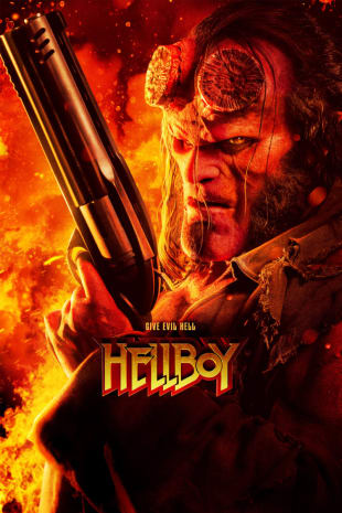 movie poster for Hellboy