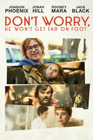 movie poster for Don't Worry, He Won't Get Far On Foot