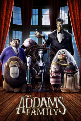 movie poster for The Addams Family (2019)