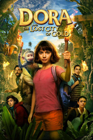 movie poster for Dora And The Lost City Of Gold