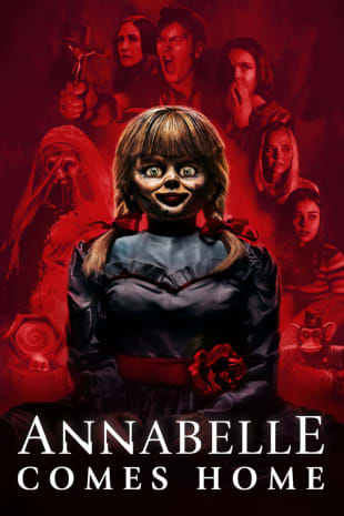 movie poster for Annabelle Comes Home