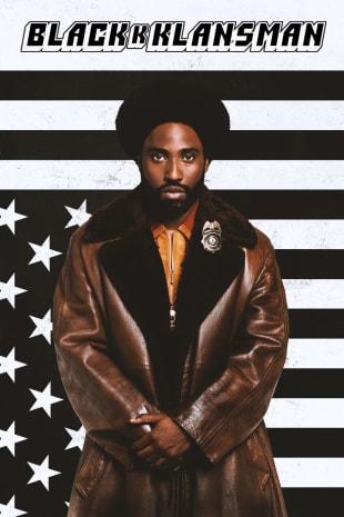 movie poster for BlacKkKlansman