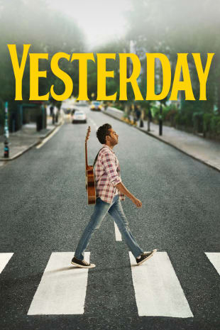 movie poster for Yesterday
