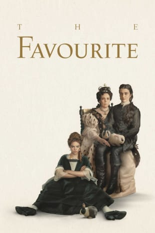 movie poster for The Favourite