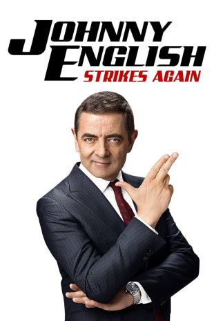 movie poster for Johnny English Strikes Again
