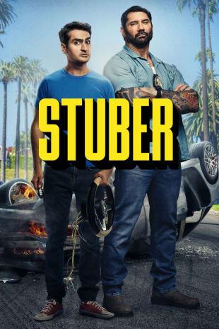 movie poster for Stuber