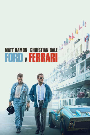 movie poster for Ford v Ferrari