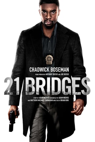 movie poster for 21 Bridges