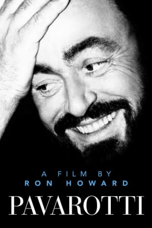 movie poster for Pavarotti