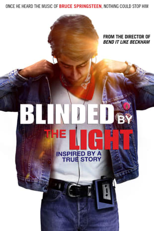 movie poster for Blinded By The Light