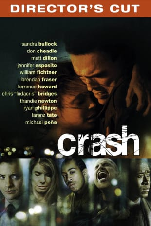 movie poster for Crash - Director's Cut