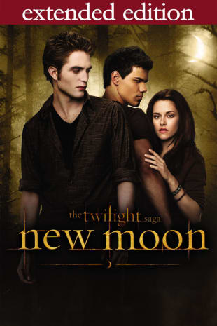 movie poster for The Twilight Saga : New Moon - Extended Edition