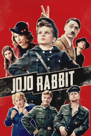 movie poster for Jojo Rabbit