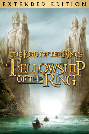 movie poster for The Lord of The Rings: The Fellowship of the Ring (Extended Edition)