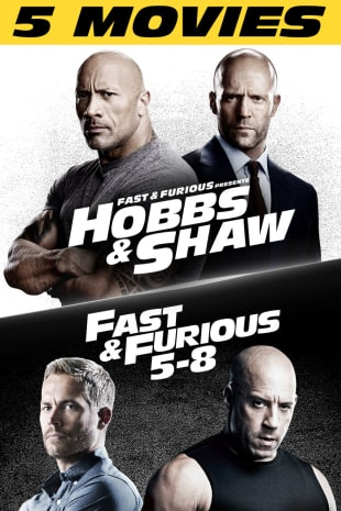 movie poster for Hobbs & Shaw 5-Movie Bundle