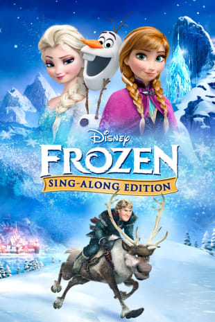 movie poster for Frozen (Sing-A-Long Version)
