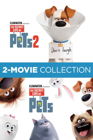 movie poster for The Secret Life of Pets 2-Movie Collection