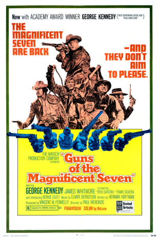 movie poster for Guns of the Magnificent Seven