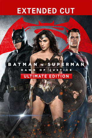 movie poster for Batman v Superman: Dawn of Justice (Ultimate Edition)