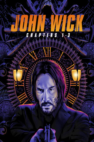 movie poster for John Wick Triple Feature