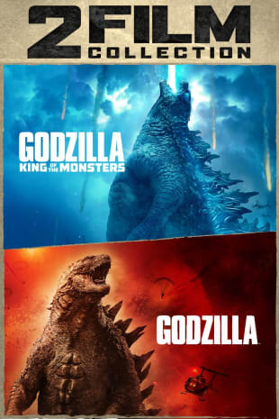movie poster for Godzilla / Godzilla King Of The Monsters / 2 Film Collection