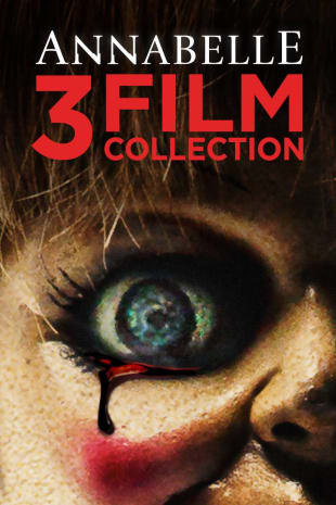 movie poster for Annabelle 3-Film Collection