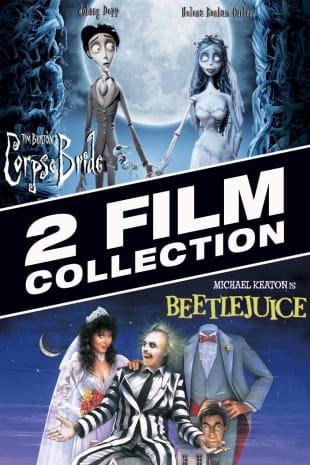 movie poster for Beetlejuice / Tim Burton's Corpse Bride