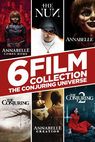 movie poster for The Conjuring Universe 6-Film Collection