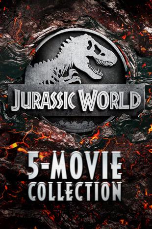 movie poster for Jurassic 5-Movie Collection