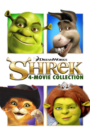 movie poster for Shrek 4-Movie Collection