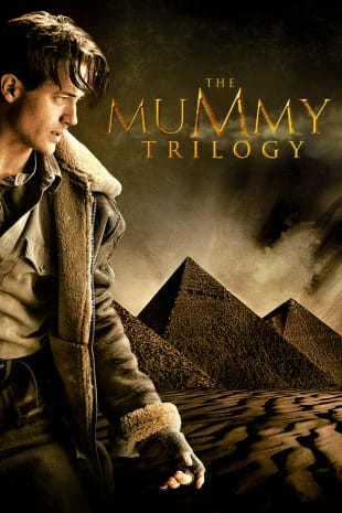 movie poster for The Mummy Trilogy