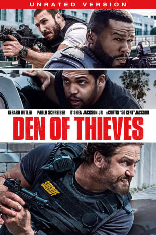 movie poster for Den of Thieves: Unrated Version
