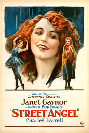 movie poster for Street Angel (1928)