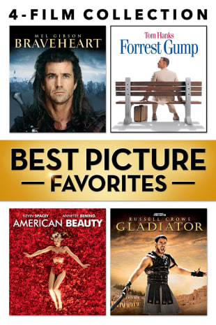 movie poster for Best Picture Favorites Bundle