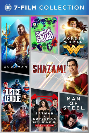 movie poster for DC 7-Film Collection