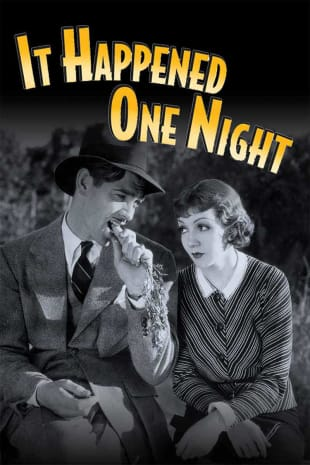 movie poster for It Happened One Night