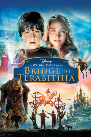 movie poster for Bridge To Terabithia