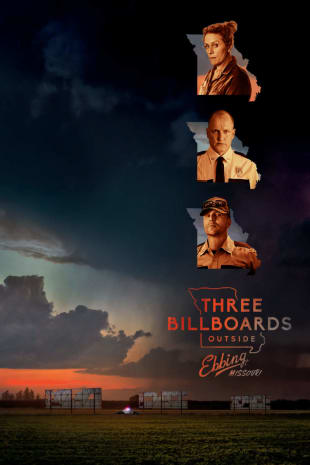 movie poster for Three Billboards Outside Ebbing Missouri