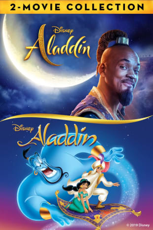 movie poster for Aladdin (1992) / Aladdin (2019) Bundle
