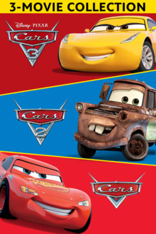 movie poster for Cars 1-3 Bundle